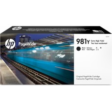 Cartucho de Tinta Black HP PageWide L0R16A P/ 20000 Pag.
